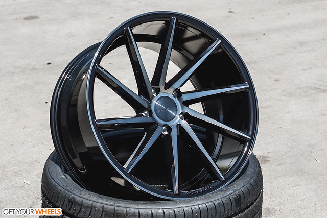 Vossen CVT - Tinted Gloss Black