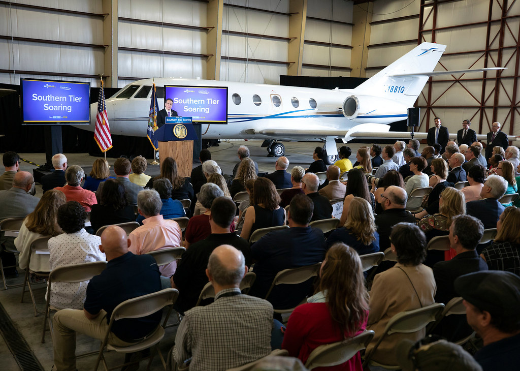 Governor Cuomo Announces $22 Million Project to Transform Ithaca Tompkins Regional Airport
