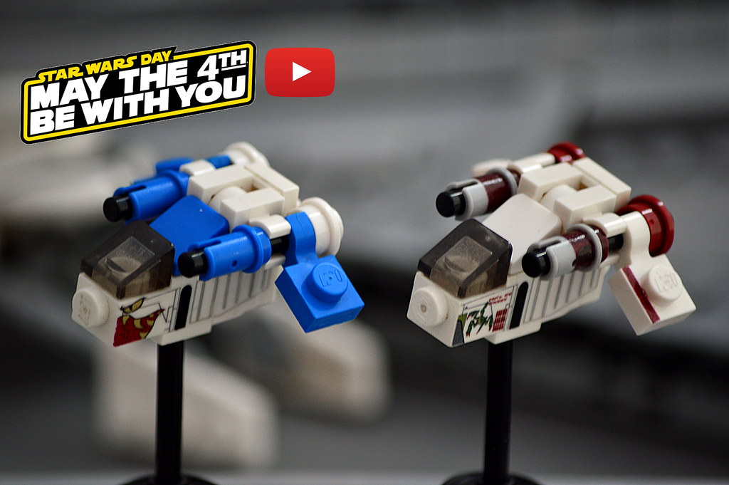 Micro Republic Gunship (Video instructions on Youtube)