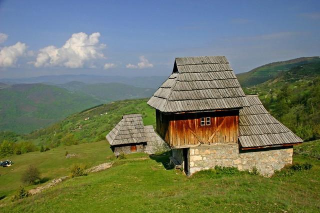 Lukomir ethno village