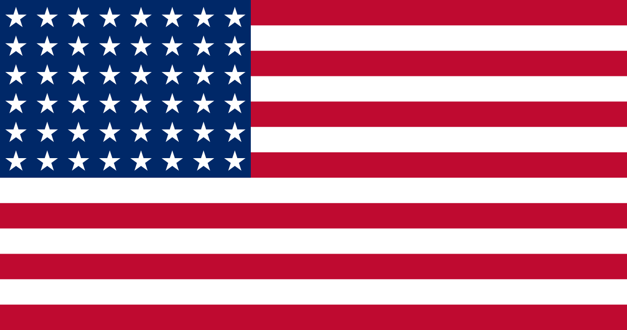 Flag of the United States, 1912-1959