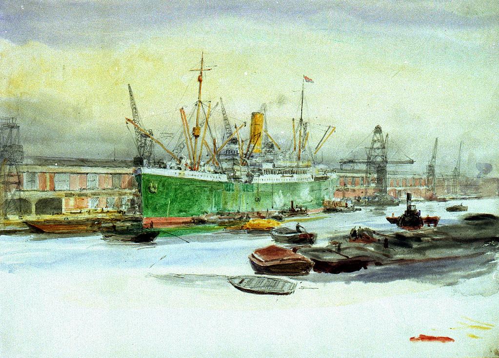 Docks (circa 1920)