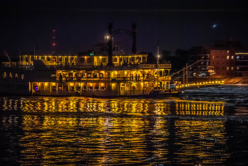 Riverboat at Night