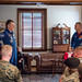 Astronauts Randy Bresnik and Paolo Nespoli Visit Marine Corps Barracks (NHQ201805070016) by NASA HQ PHOTO