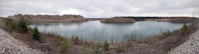 Aidu karjäär / Aidu surface mine In Estonia