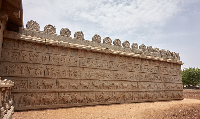 Hazararama Temple carvings