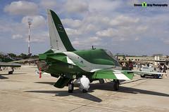 8806 - 6Y020 - Saudi Hawks - Royal Saudi Air Force - British Aerospace Hawk 65A - Luqa Malta 2017 - 170923 - Steven Gray - IMG_0049