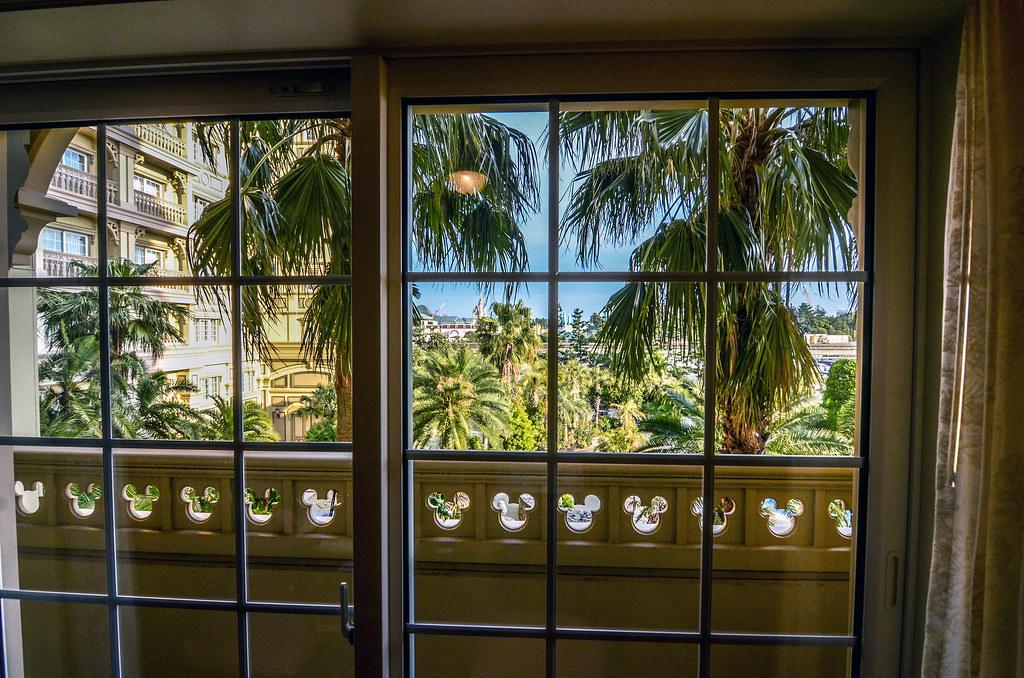 Tokyo Disneyland Hotel view room