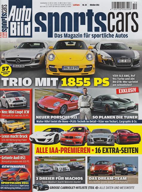 Auto Bild Sportscars 10/2011