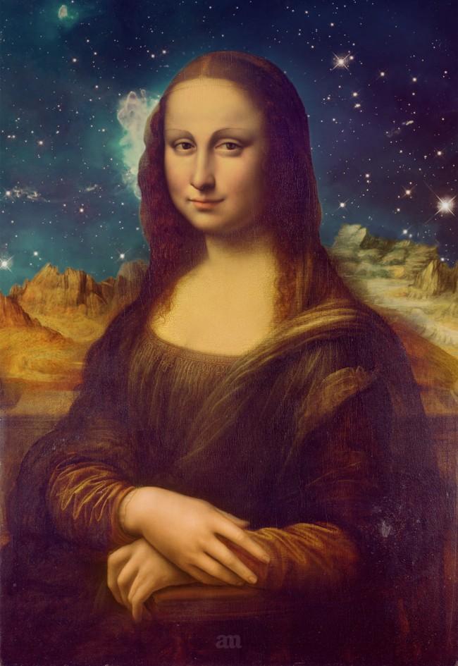 Mona Lisa's Galaxy