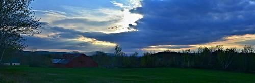 panorama sky skyscene skyview clouds nature naturephoto naturephotography landscape landscapephoto landscapephotography may maine