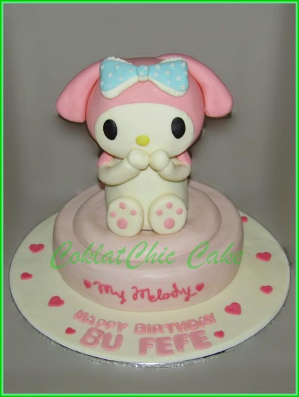 Cake My Melody BU FEFE 20 cm