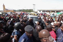 H.E. John Mahama at Super OD's funeral at Swedro Abodom in Central Region