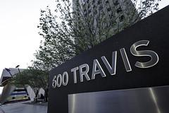 600 Travis Sign