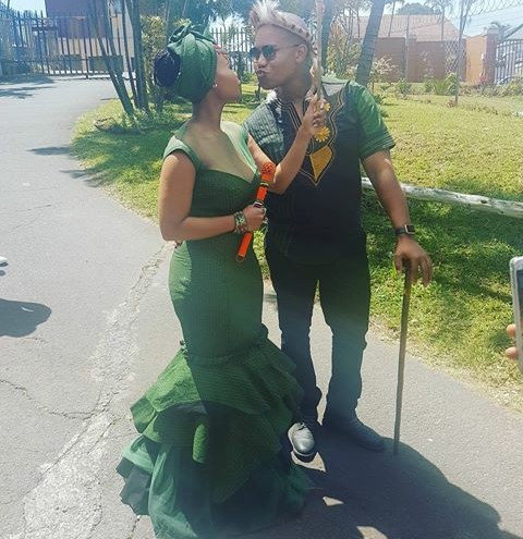 green dresses south africa style 2018