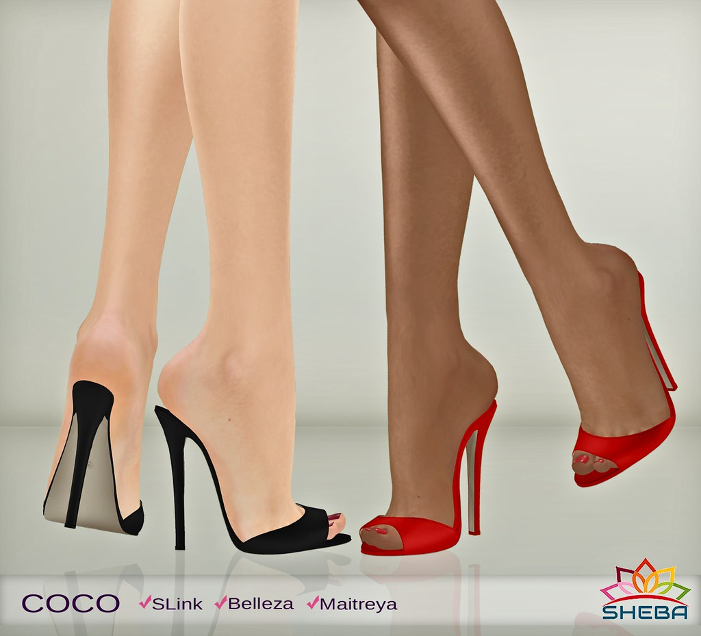 [Sheba] Coco Mules