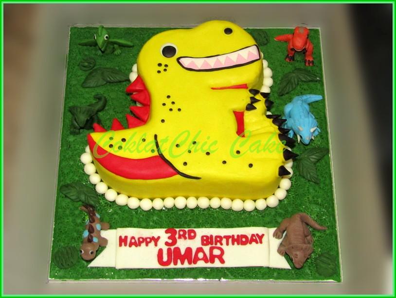 Cake Dino UMAR 20 cm