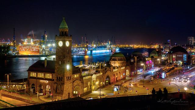 Hamburg city nights