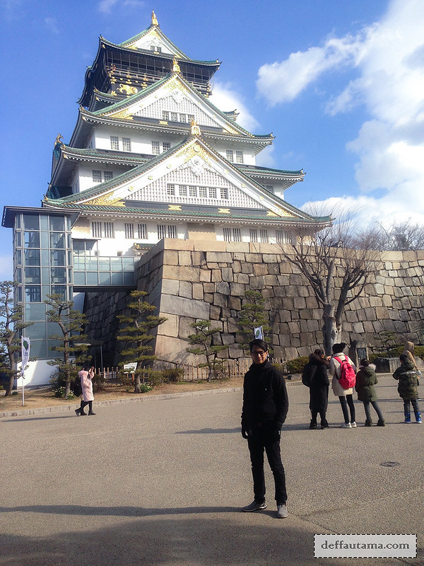 9 Hari Babymoon ke Jepang - Osaka Castle