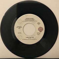 CHAKA KHAN:THROUGH THE FIRE(RECORD SIDE-B)