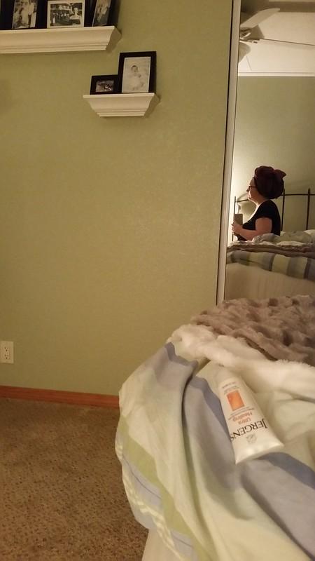 Weird post shower self portrait