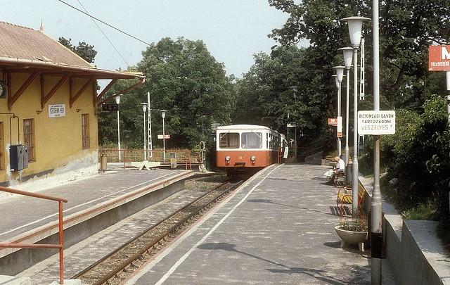 Zahnradbahn  ET 66  Budapest  29.06.79