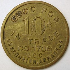 0 Cents CCC Token Greenbriar, AR reverse