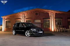 VW Touran Nightshooting