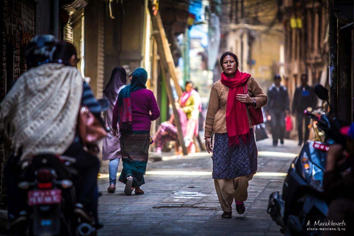 Непал, Катманду, люди