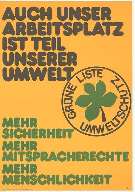 Bildnachweis für die Plakate: © Agentur - Grüne Projektgruppe / Georg Otto