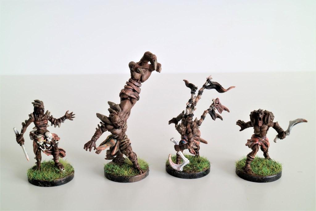 Runewars Miniatures Uthuk Y'llan Command