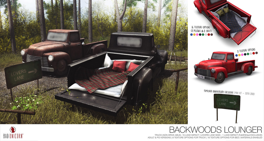 NEW! Backwoods Lounger @ FaMESHed - TeleportHub.com Live!