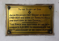 first Bishop of Quebec