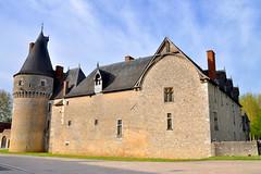 Château de Fougères-sur-Bièvre. Loire Valley, France
