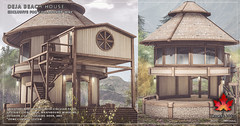 Trompe Loeil - Deja Beach Cottage for Collabor88 May