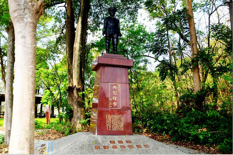 義消林清求紀念銅像