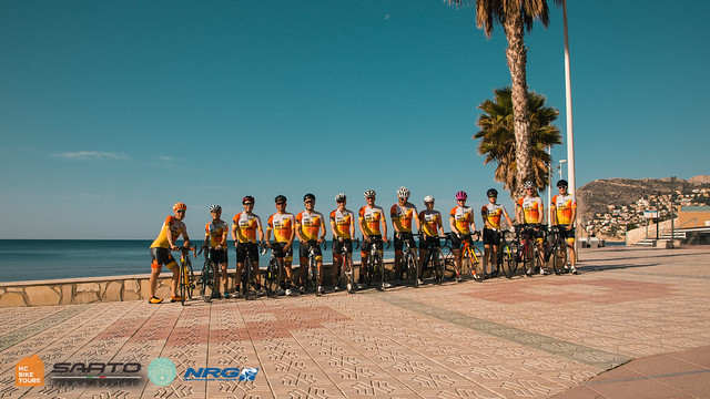 NRG Performance training tri camp 2018, Calpe, Spain