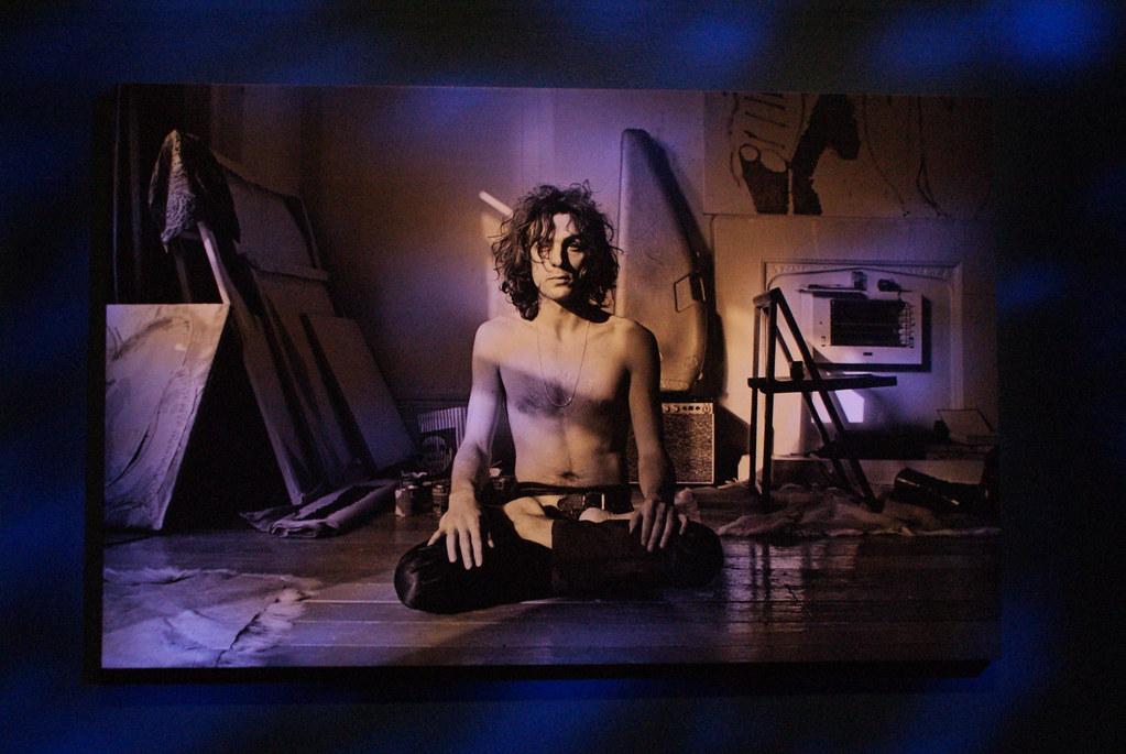 > Expo Pink Floyd au Macro de Rome : Syd Barret, un des fondateurs du groupe originel.