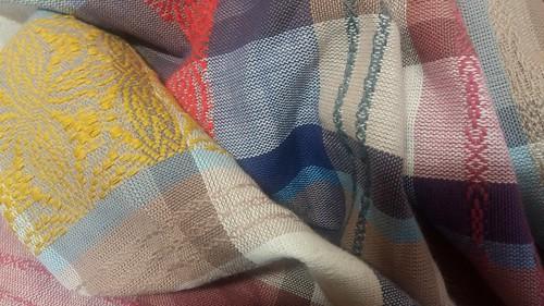 Overshot cotton wrap