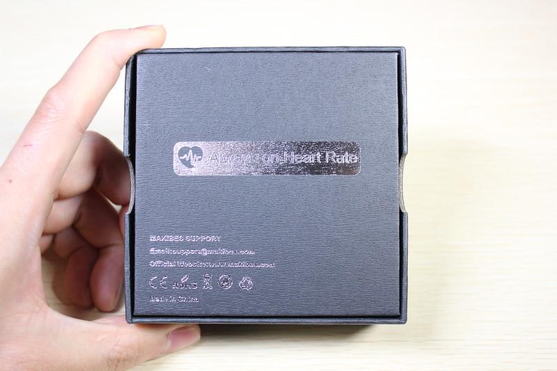 Makibes HR3 スマートバンド 開封レビュー (3)