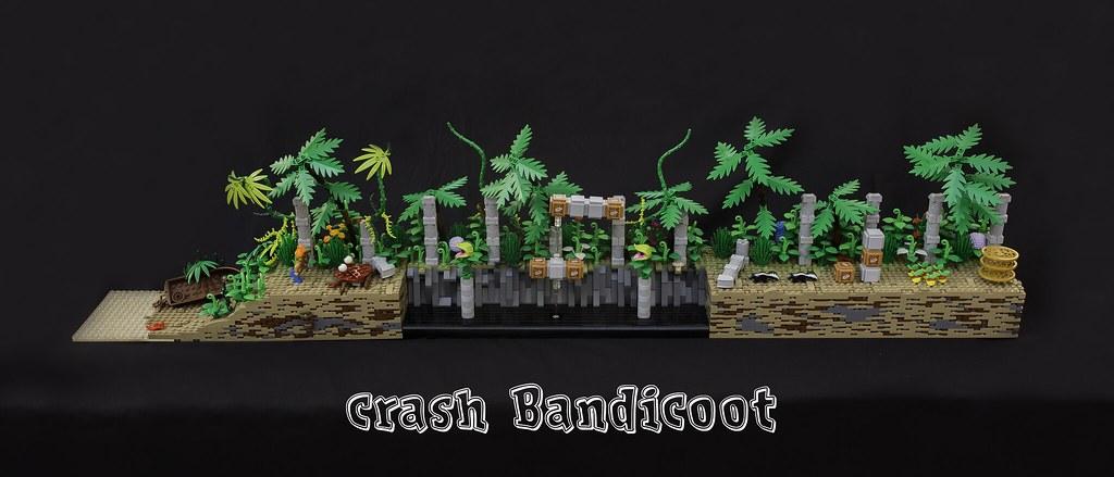 LEGO Ideas: Crash Bandicoot 42249115852_ee2aa668e0_b