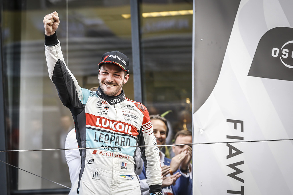 VERNAY Jean-Karl, (fra), Audi RS3 LMS TCR team Audi Sport Leopard Lukoil, portrait, winner race 3 during the 2018 FIA WTCR World Touring Car cup of Zandvoort, Netherlands from May 19 to 21 - Photo Jean Michel Le Meur / DPPI