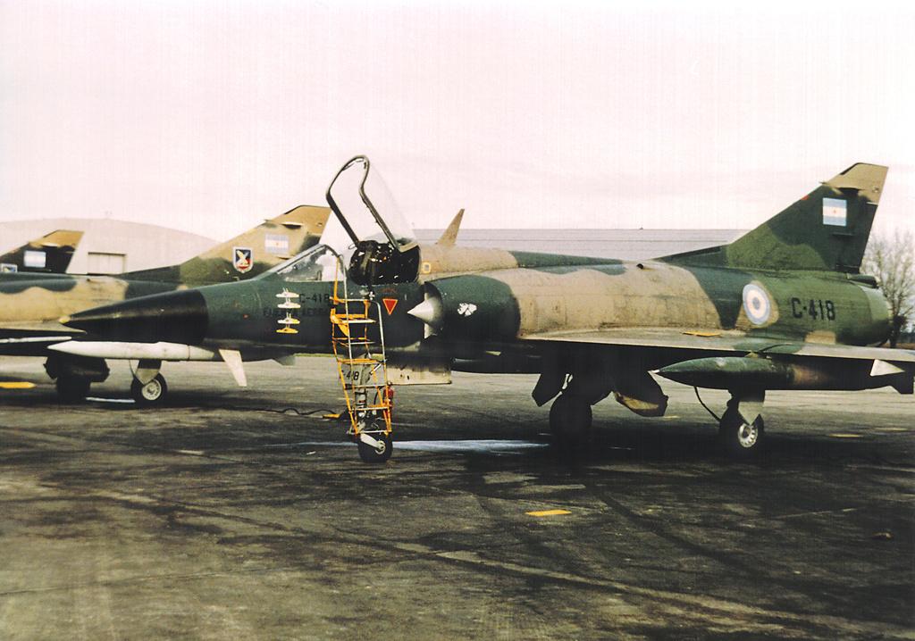 IAI Dagger fuerza aerea argentina Mirage V Dagger (C-418)