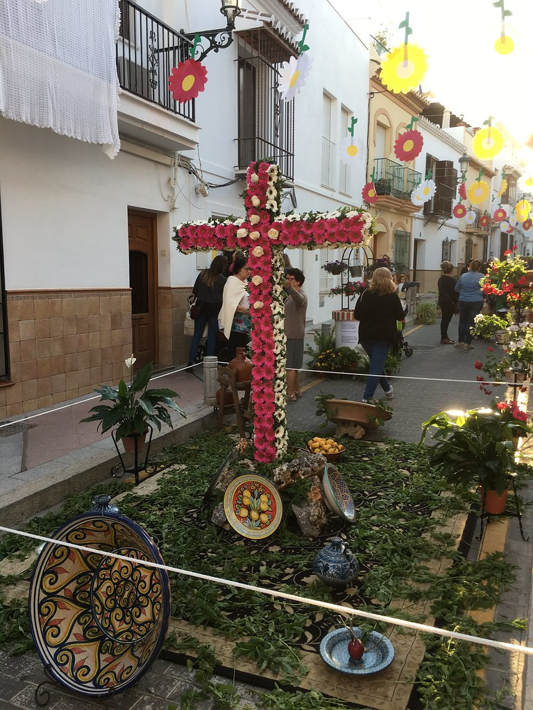 Dia de la Cruz Nerja 2018 @porcelinasworld