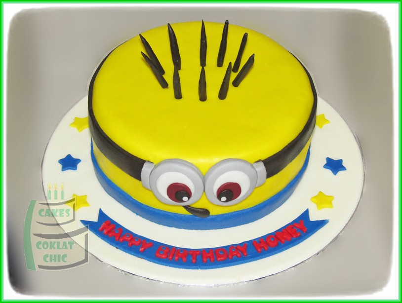 Cake Minion HONEY 15 cm