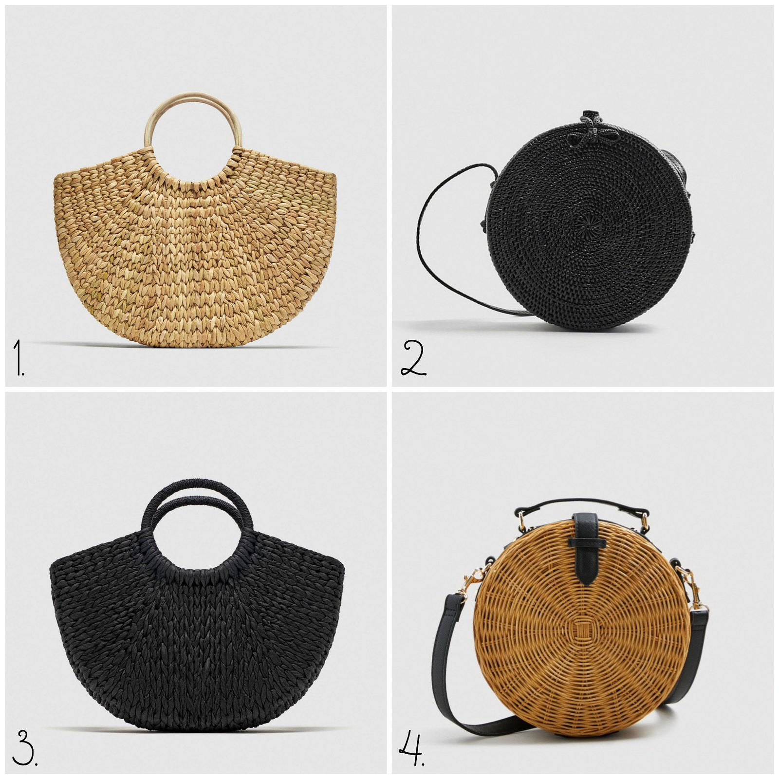 round summer bags