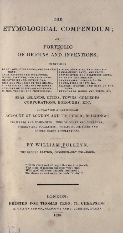 etymological-compendium