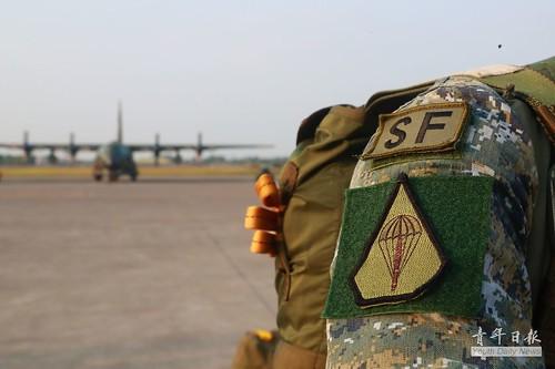 107年陸軍特戰第3營天兵操演