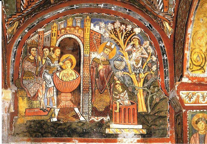 014-Иоанн Богослов, воскрешение Магном упавшего в колодец ребенка