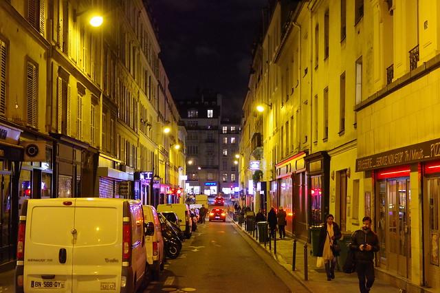 Paris, Night